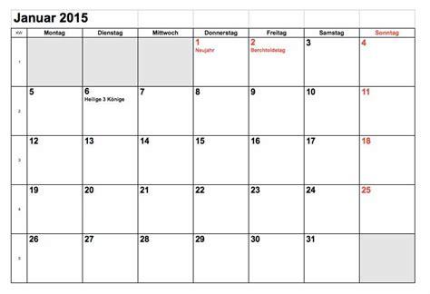 monatskalender 2015 schweiz excel muster und vorlagen