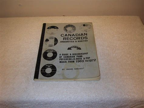 Canadian Records Popsike Canadian Records Obscurities Discography Psych Garage Auction Details