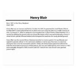 henry blair fact card postcard zazzle