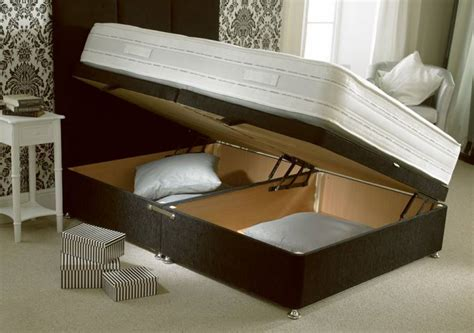 Side Opening Ottoman Bed Highgate Beds Healthopaedic Silk 1000 Pocket Sprung Divan Beds Single Kingsize