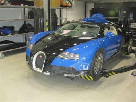 bugatti crash for sale a crashed bugatti veyron is for sale for chf 230 600