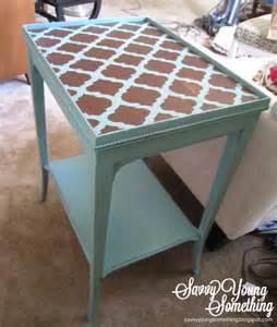 Sarah bridger design stenciled chalk paint table