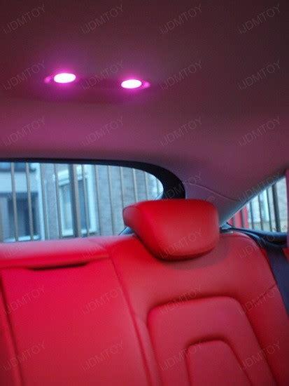 light pink audi audi a5 with pink led lights ijdmtoy automotive lighting
