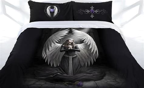 anne stokes bedding anne stokes collection prayer for the fallen gothic doona