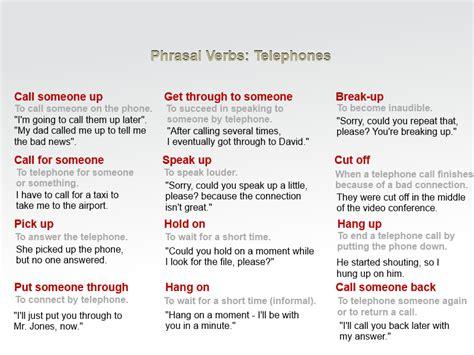 preguntas entrevista de trabajo en ingles por telefono click on phrasal verbs telephones