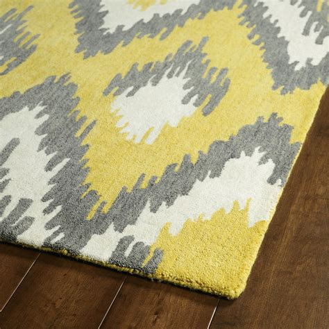 yellow area rugs grey yellow area rug best decor things