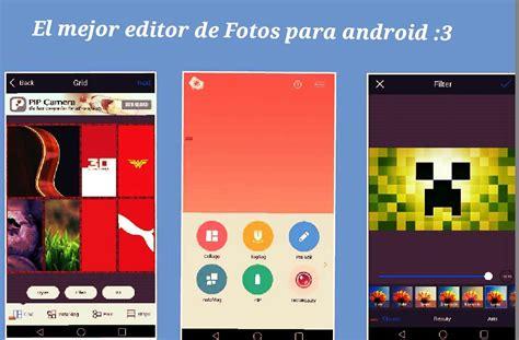 imagenes de editor web el mejor editor de fotos para android gratis 3 youtube
