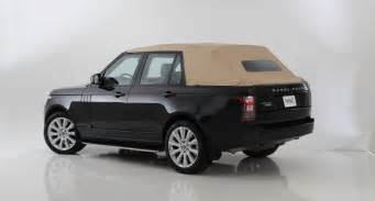 convertible land rover vintage range rover autobiography convertible heavyweight in a