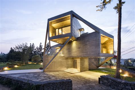 picture house design simple house moon hoon archdaily