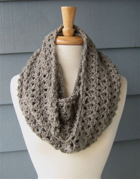 simple pattern infinity scarf 32 super easy crochet infinity scarf ideas crochet