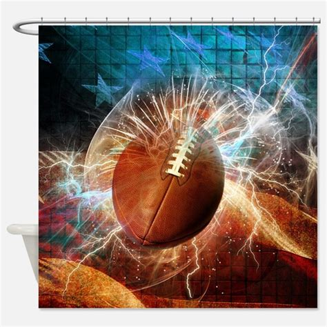 football curtain football shower curtains football fabric shower curtain
