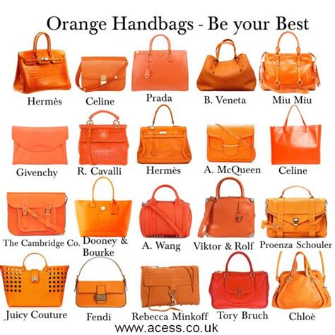 8 Orange And On Trend Accessories by Prepare For Handbags Wholesale Cheap