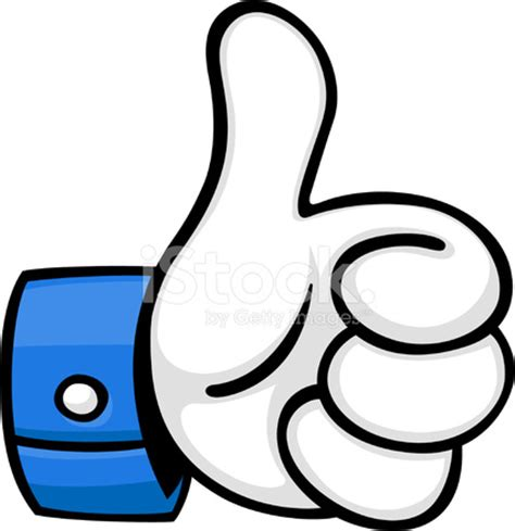 images thumbs up cartoon thumbs up stock vector freeimages com