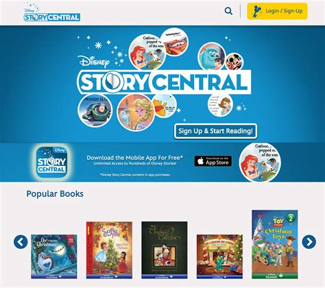 intercots webdisney guide to disney on the internet read disney books online on disney story central