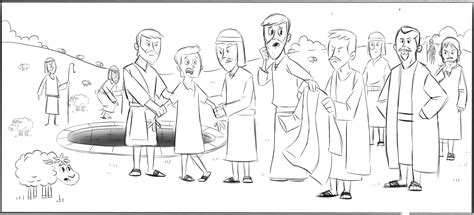 bible coloring pages joseph sold into slavery kids coloring