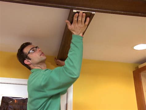 How To Install Decorative Ceiling Beams by Box Beam Ceiling Ask Home Design