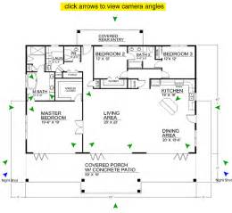 Open Floor Plan Blueprints Free Home Plans Open Floor Plans For Homes