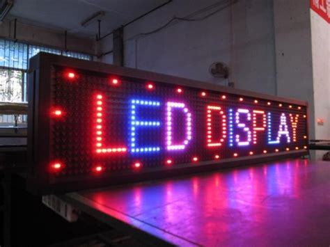 led signs nigeria digital signage moving sign display
