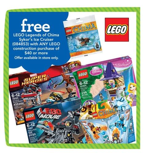 Lego Chima 30266 Sykor S Cruiser Polybag Sykor Kid Minifigure toys n bricks lego news site sales deals reviews mocs new sets and more
