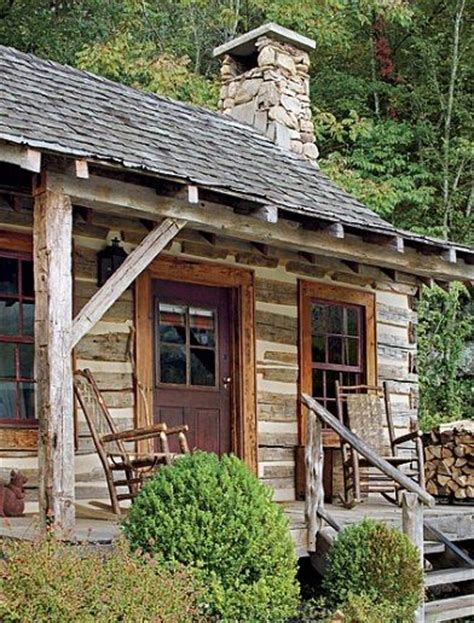 rustic guest cottage rustic english country style in the smoky mountains