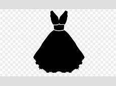 Little black dress Wedding dress Strapless dress Clothing ... Free Clipart Bride Silhouette