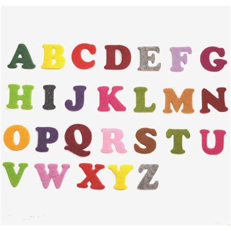 lettere pannolenci lettere dell alfabeto in feltro