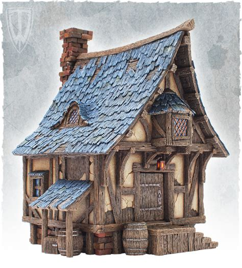 fantasy houses fantasy terrain by tabletop world 14th september 2013 blacksmith s forge released forum