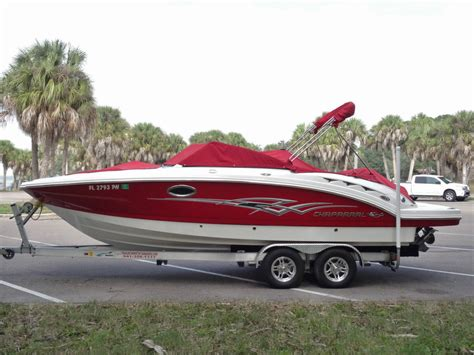 chaparral boats in saltwater chaparral 244 sunesta boat for sale from usa