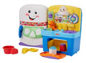 fisher price kitchen laugh and learn baby kitchen review cookin up