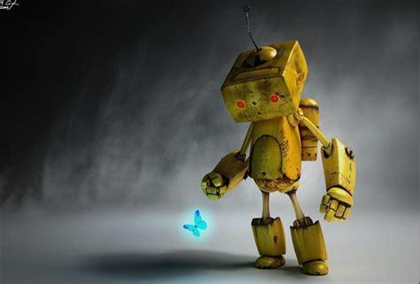 Sad Robot Wallpaper