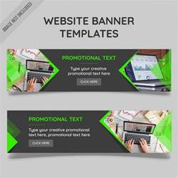 Op Templates by Website Banner Templates Vector Free