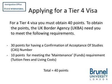 Loan Letter For Tier 4 Visa Applying For A Tier 4 Student Visa