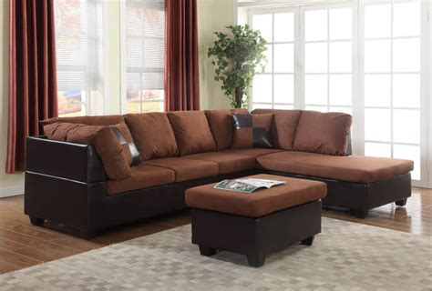 free sofa set chocolate sectional with free ottoman sectional sofa sets