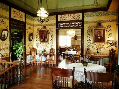philippine home decor taal ancestral house architecture interior design ideas