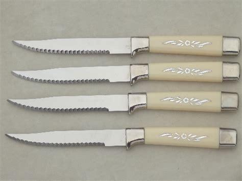 vintage steak knives qwikcut sheffield knife sets in