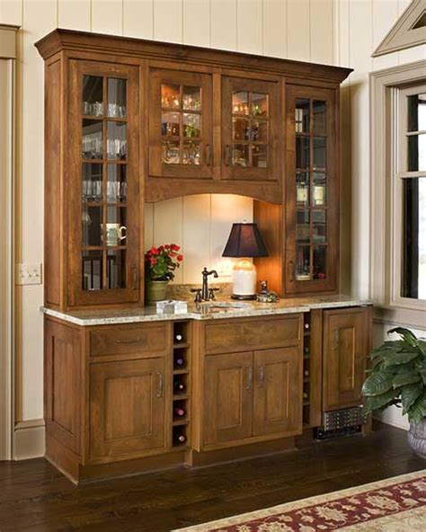 kitchen bar cabinet ideas located in the dining room just off the kitchen this elegant wet bar has wine storage a built