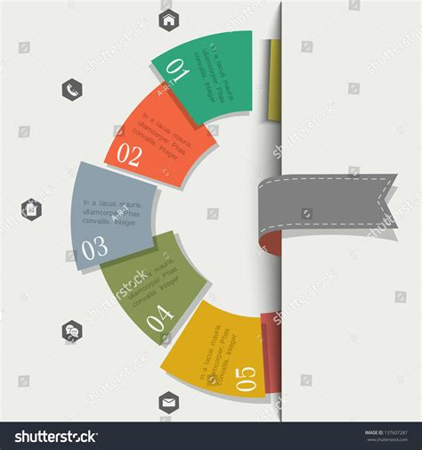 Creative Design Template For Infographics And Website Templates Or Design Graphic For Business Creative Graphic Design Layout Templates