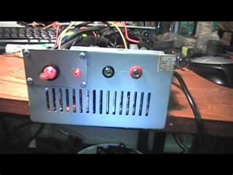 12v bench power supply converted computer atx power supply to 12v bench power
