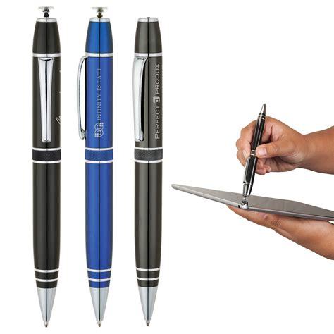 Ballpoint Pena Stylus Motif basics 174 elite ballpoint pen precision stylus logo branded items