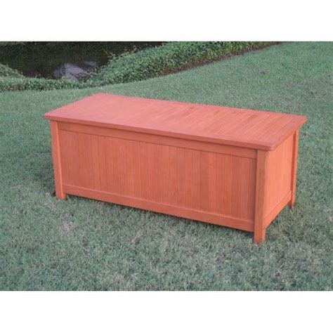 storage bench with lid royal tahiti patio storage trunk with lid international