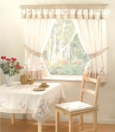 Country Curtains For Kitchen Country Kitchen Curtains Tie Backs 66 Quot X48 Quot Drop Floral Ebay