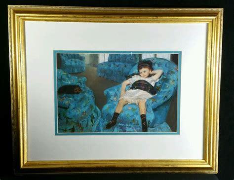 Cassatt In A Blue Armchair by In Blue Armchair Cassatt Www Imgkid