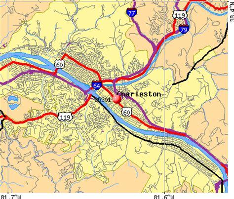 charleston wv map 25301 zip code charleston west virginia profile homes