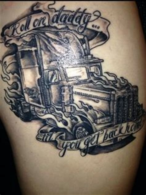 peterbilt tattoos details about peterbilt big rig semi truck tshirts