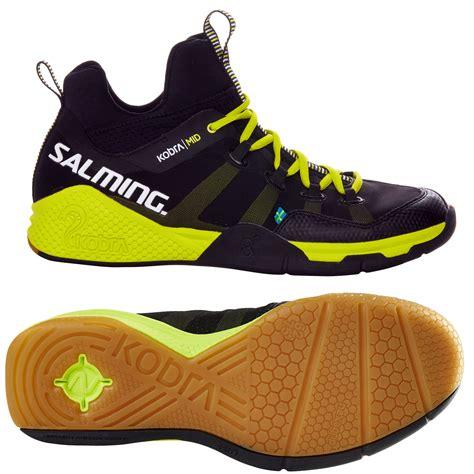 indoor shoes salming kobra mid mens indoor court shoes