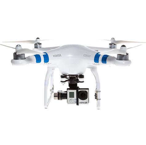 Dji Phantom Gopro dji phantom 2 with gopro 3 gimbal go pro drones epictv shop