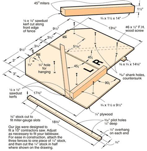 tablesaw miter jigs