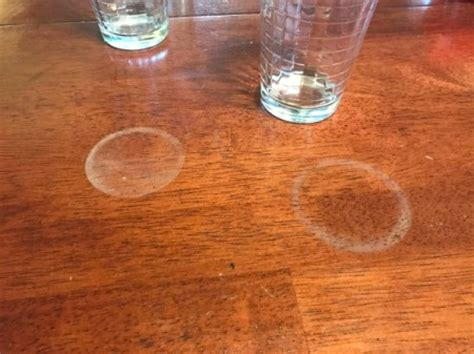 water spots on table removing water marks from wood furniture thriftyfun