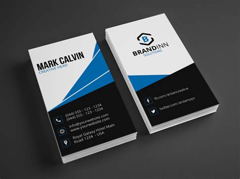 With Business Card