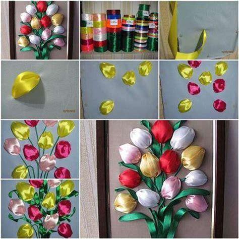 fiori di nastro fai da te fiori fai da te con il nastro foto 4 11 tempo libero